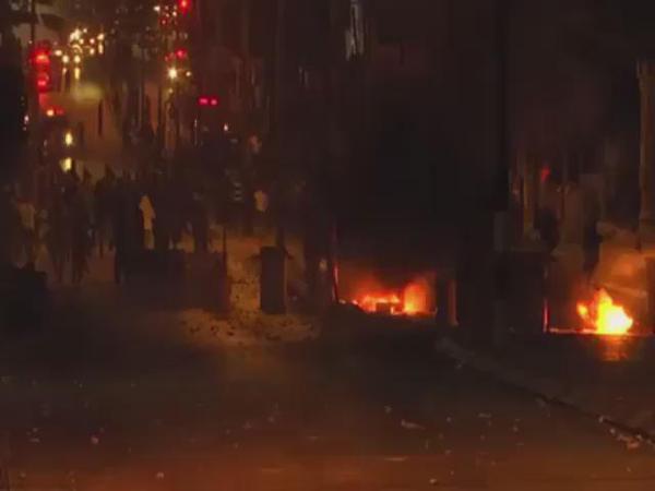 Les affrontements de la nuit passée à Bethléem