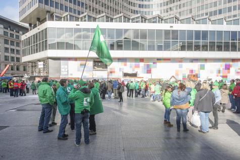 Un piquet de grève à Bpost ce vendredi