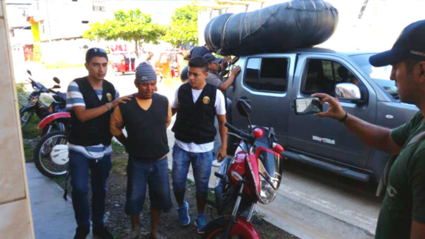 Arrestation de Miguel Vega Chuquizuta