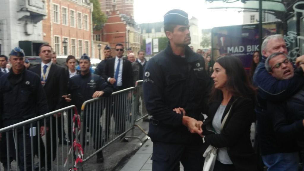 Quatre manifestants anti-erdogan arrêtés à Bruxelles.