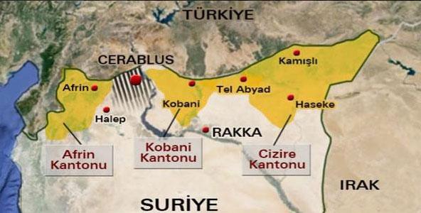 Carte du conflit.