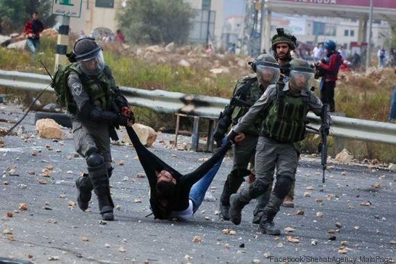 Arrestation violente en Cisjordanie