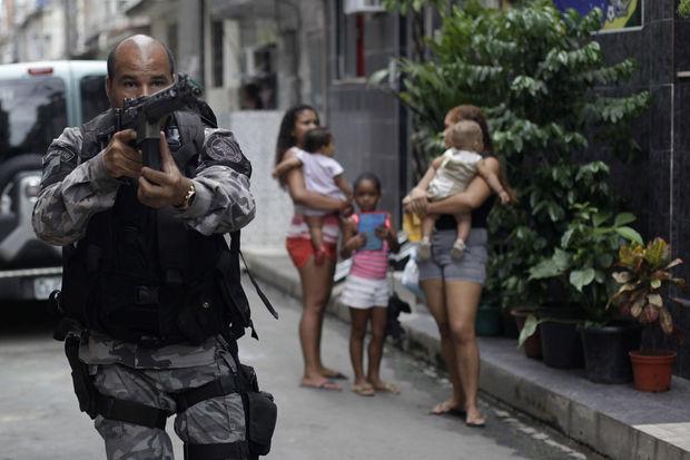 Opération policière au Brésil