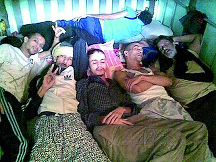 Prisonniers politiques sahraouis détenus à Salé