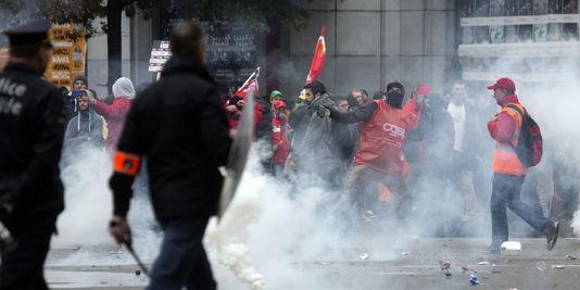 Incidents à la manifestation du 7 octobre
