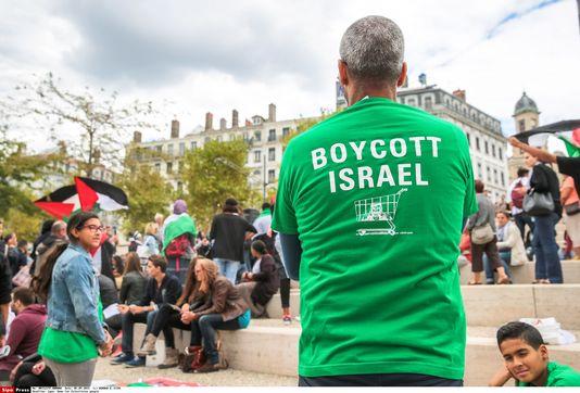 Mobilisation de BDS à Lyon