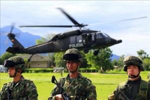Opération policière en Colombie