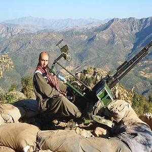 Une pièce anti-aérienne du PKK