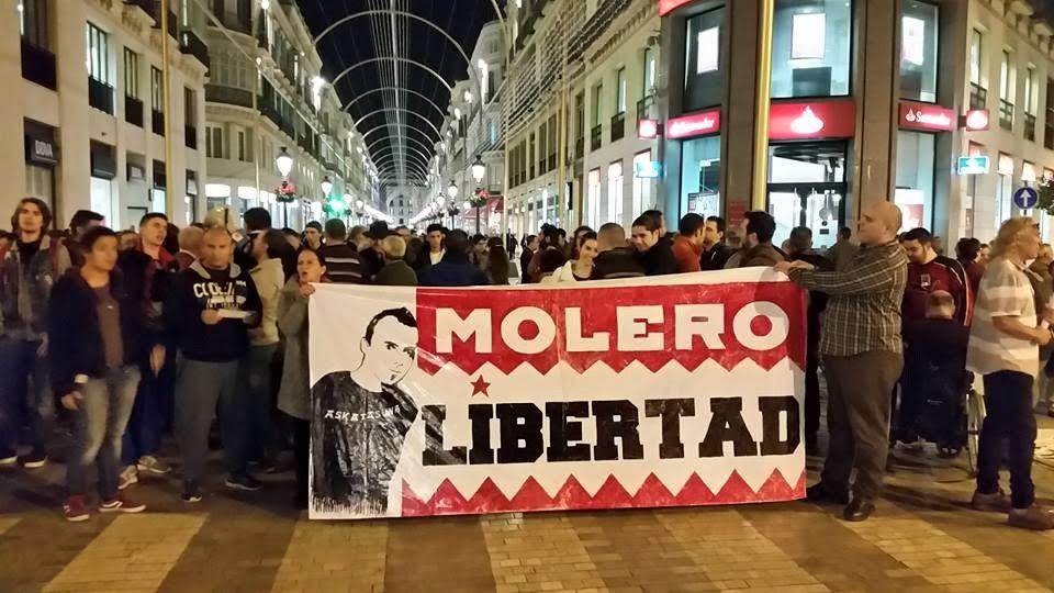 Le rassemblement de Malaga