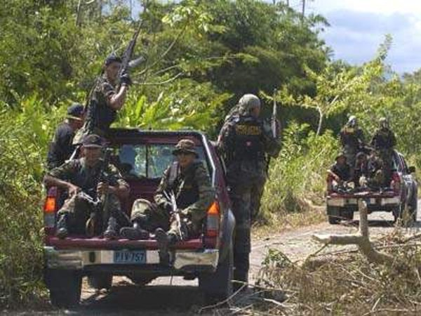 Opération anti-maoïste au Pérou