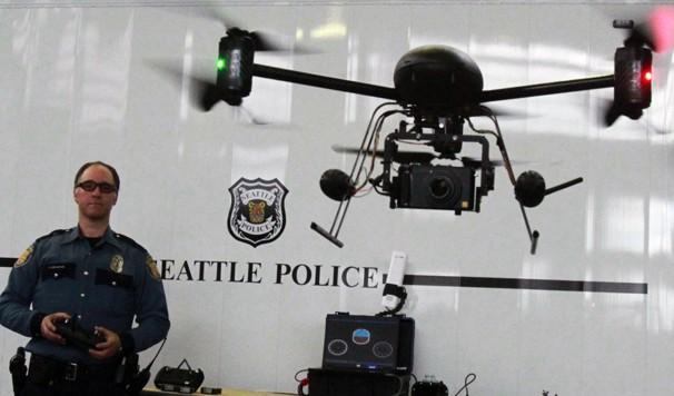 Un drone de la police de Seattle