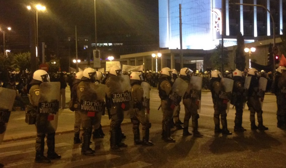 6.000 policiers à Athènes