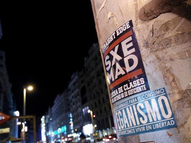 Affichage du Straight Edge Madrid