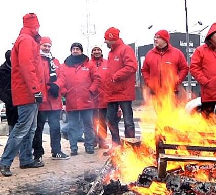 Le piquet de grève à Technord avait déjà été condamné l'année passée