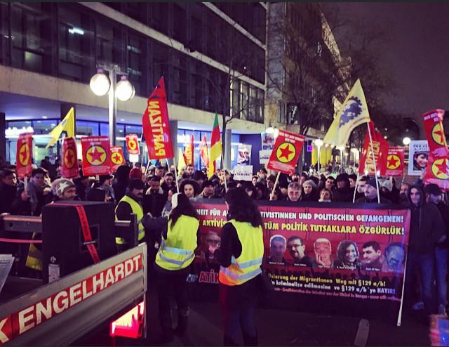 La manifestation de Stuttgart