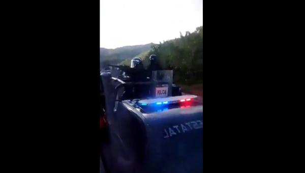 L'embuscade policière (capture d'écran)