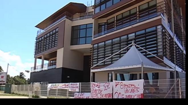 La grève à EDF Guyanne