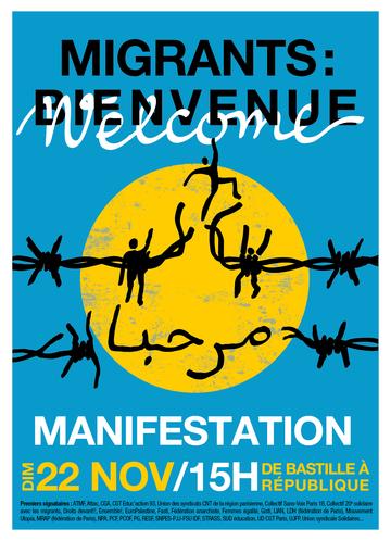 L'affiche de la mobilisation