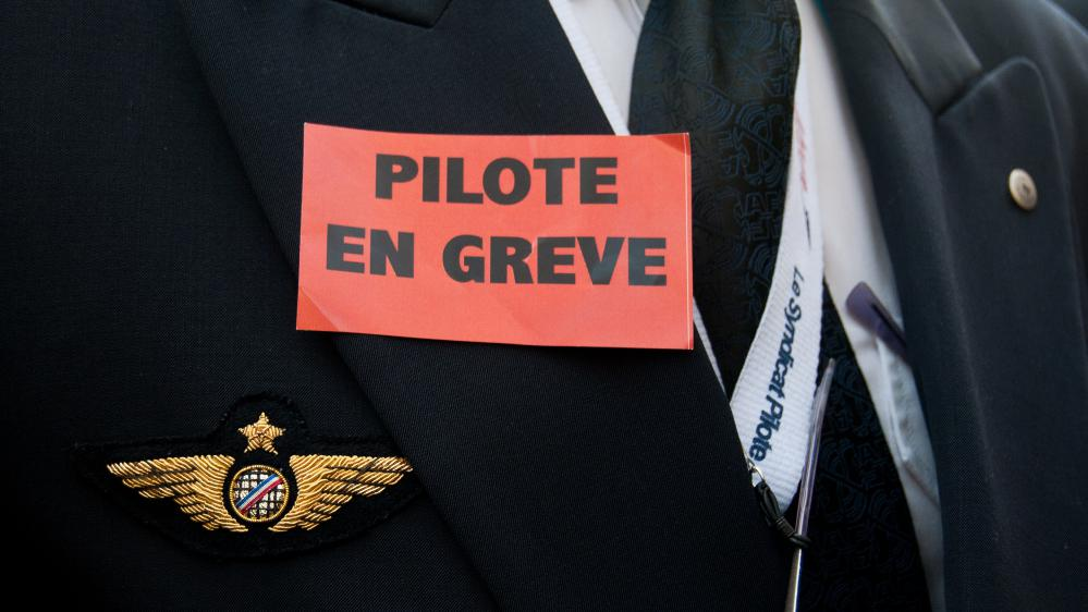 La grève à Air France