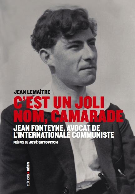 Le livre de Jean Lemaître sur Jean Fonteyne