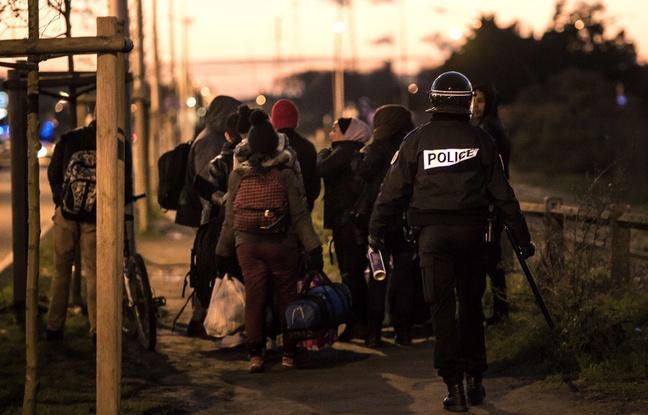 Les affrontements à Calais
