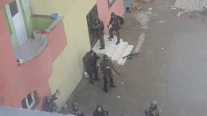 Militaires turcs à Cizre
