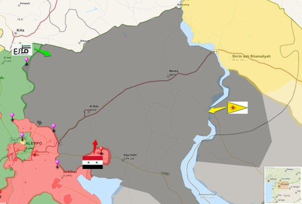 Les YPG/QSD arrachent le barrage de Tichrin à Daesh.