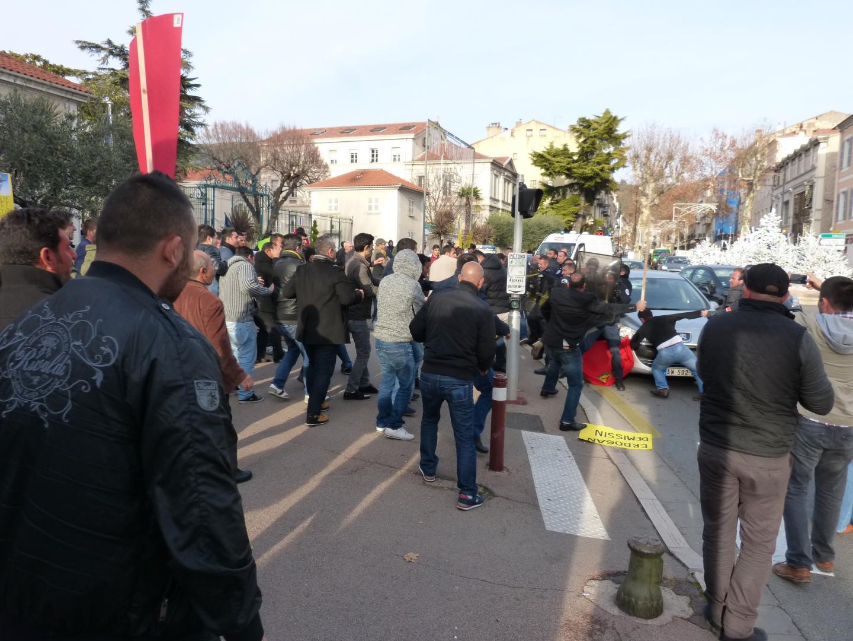 Les incidents de Draguignan