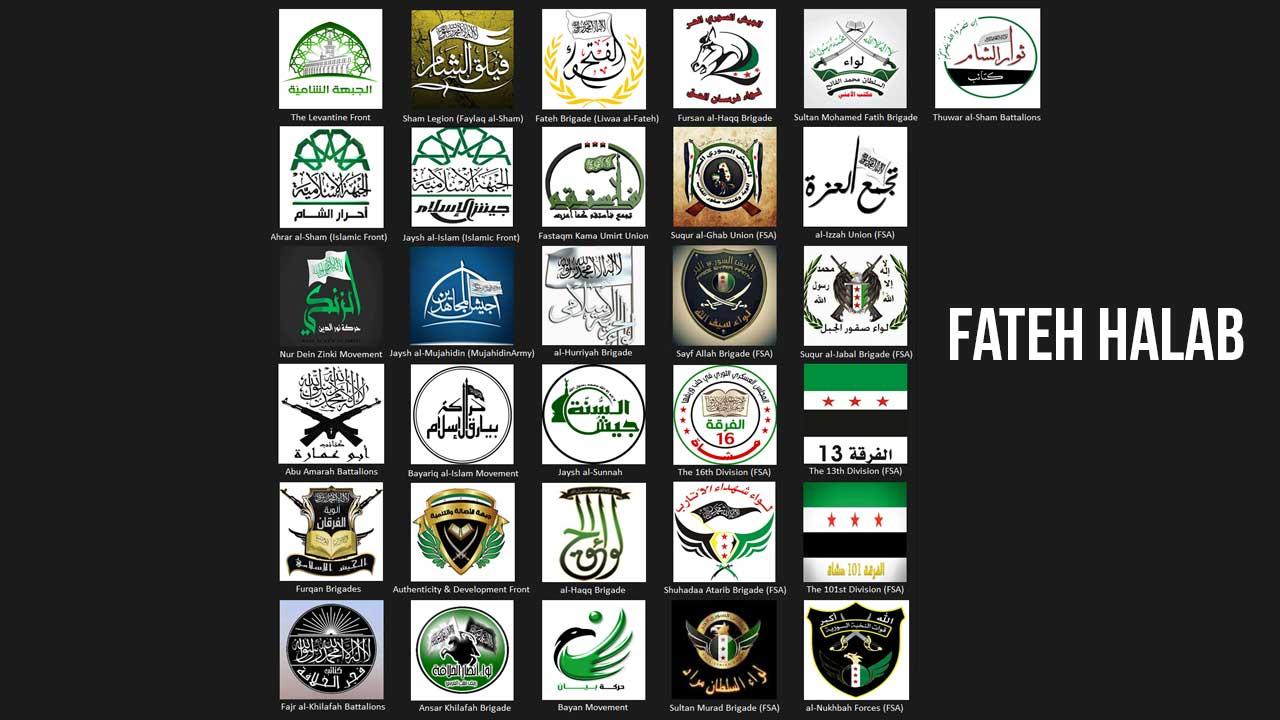 Composition de Fateh Halab.