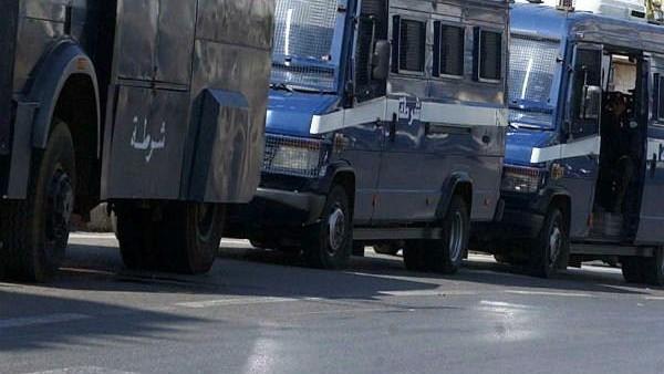Déploiement policier en Algérie
