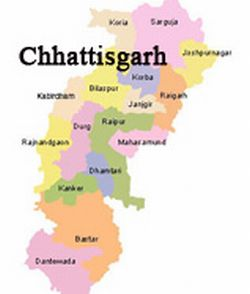 Etat du Chhattisgarh