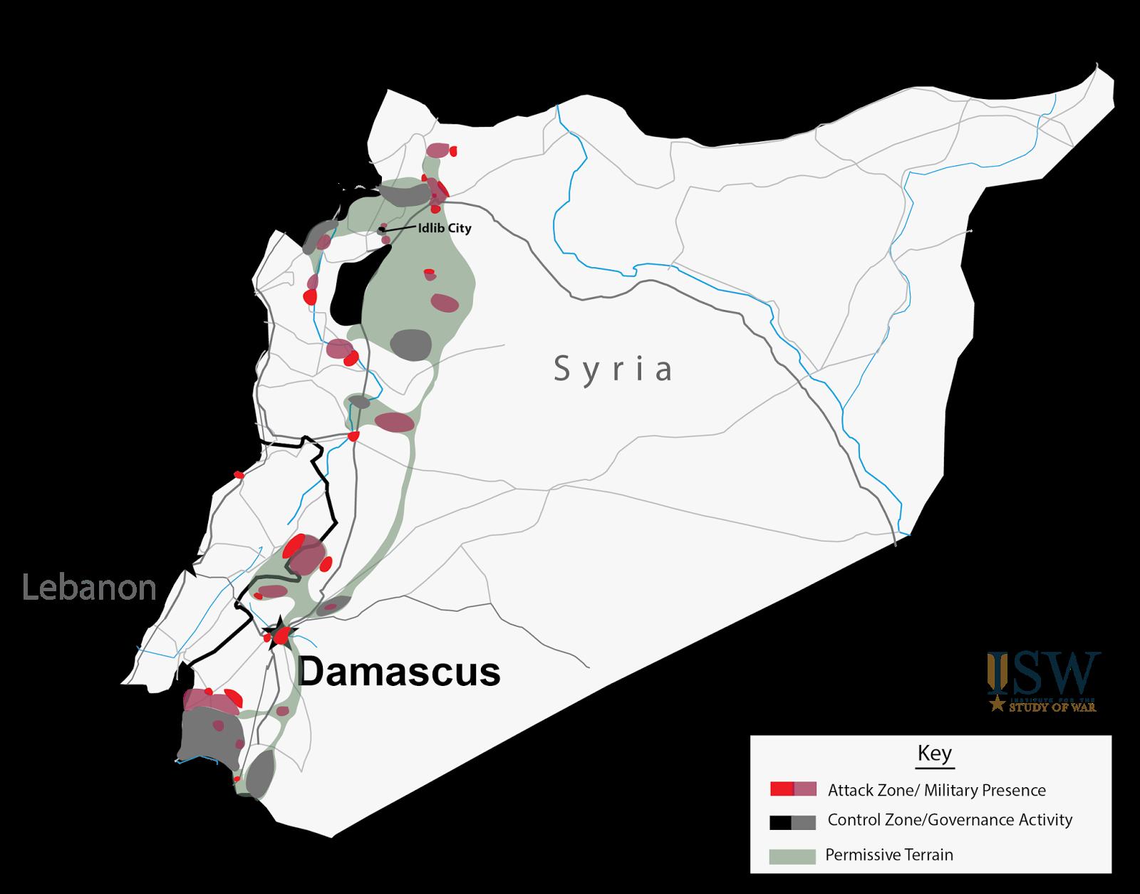 Déjà début 2015, Al Qaeda était omniprésent dans les zones rebelles.