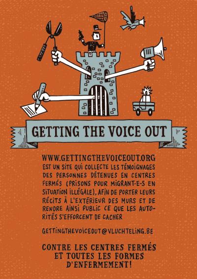 Getting the Voice Out fait sortir les témoignages des centres fermés