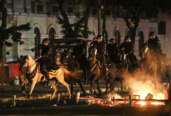 Affrontements à Sao Paulo