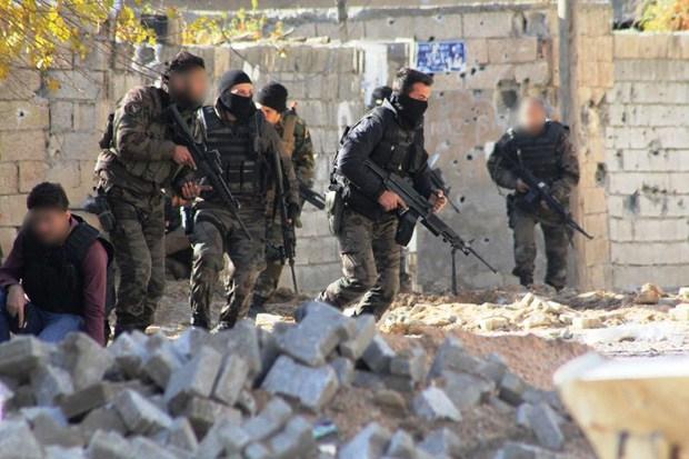 Forces spéciales à Diyarbakir