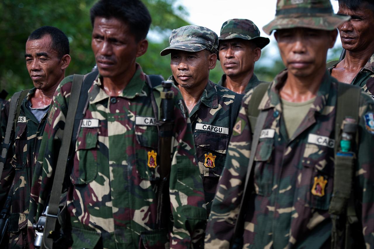 CAFGU à Mindanao