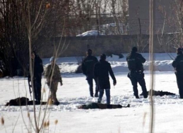Des images de l'éxécution à Van.