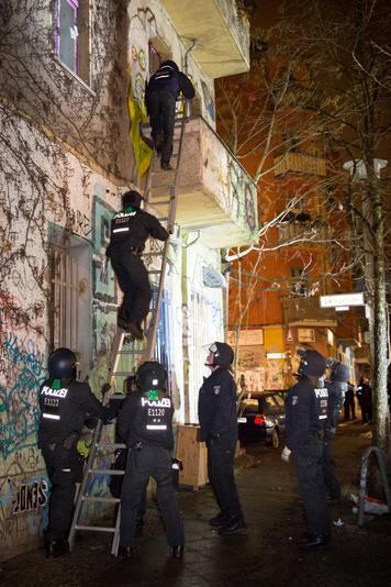 Raid policier contre le R94