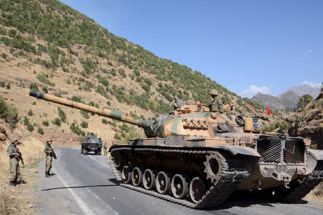 Opération militaire turque au Kurdistan