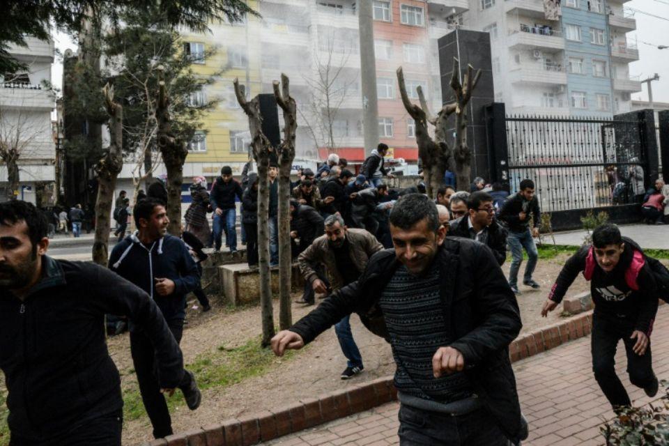 Ce samedi, dans le parc Kosuyolu à Diyarbakir