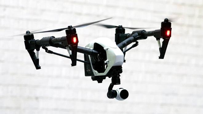 Drone pour la police de Seraing