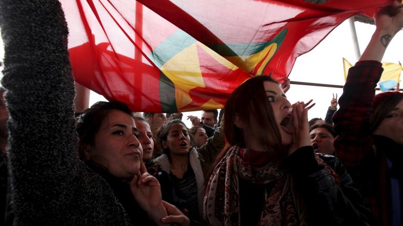 Manifestation à Erbil.