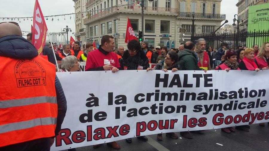 Rassemblement à Marseille le 26 janvier