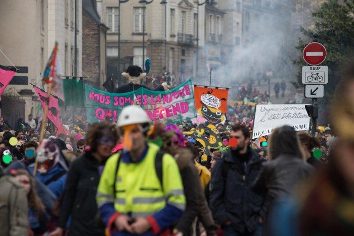Le défilé de Rennes