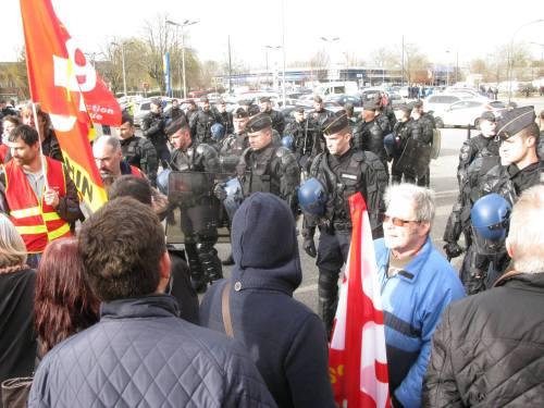 Le rassemblement de Mulhouse
