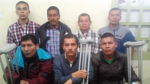 Sept des seize prisonniers libérés