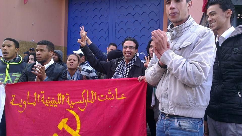 Libération d'Aziz Elbour et de Mohamed Elmouden