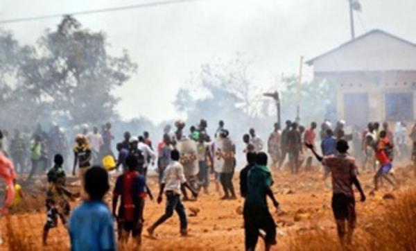L'émeute à Sadobala