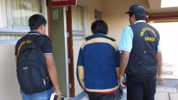L'arrestation d'Alfaro
