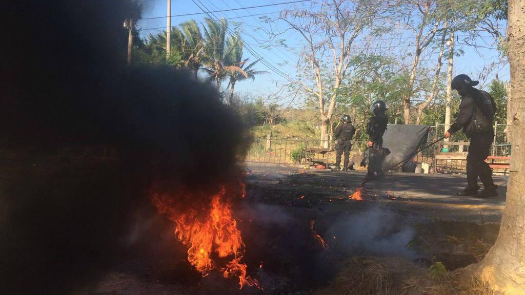 Affrontements au Salvador
